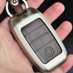 Alu Hartschalen Schlüssel Case passend für Kia Autoschlüssel  HEK2-K7