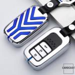 C-LINE Hartschalen Schlüssel Cover passend für Honda Schlüssel  HEK6-H11