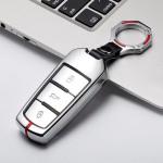 C-LINE Hartschalen Schlüssel Cover passend für Volkswagen Schlüssel  HEK6-V6