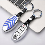 Alu Schlüssel Cover für Nissan Schlüsseltyp N5-N9 Kollektion-HEK6