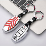 C-LINE Hartschalen Schlüssel Cover passend für Nissan Schlüssel  HEK6-N5