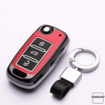 Schlüssel Cover für VW SKODA SEAT Schlüsseltyp V2 Kollektion-HEK19  NACHLEUCHTEND!