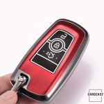 Hartschalen Schlüssel Cover passend für Ford Autoschlüssel mit Leuchtfunktion  HEK19-F8