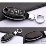 Hartschalen Schlüssel Cover passend für Nissan Autoschlüssel mit Leuchtfunktion  HEK19-N5