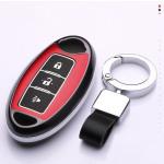 Hartschalen Schlüssel Cover passend für Nissan Autoschlüssel mit Leuchtfunktion  HEK19-N7