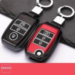 Hartschalen Schlüssel Cover passend für Kia Autoschlüssel mit Leuchtfunktion  HEK19-K7