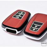 Hartschalen Schlüssel Cover passend für Toyota Autoschlüssel mit Leuchtfunktion  HEK19-T5