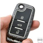 Nachleuchtende Schlüssel Cover passend für Volkswagen, Skoda, Seat Autoschlüssel  HEK20-V2