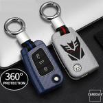 Nachleuchtende Schlüssel Cover passend für Volkswagen, Audi, Skoda, Seat Autoschlüssel  HEK20-V3