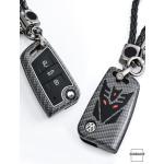 Nachleuchtende Schlüssel Cover passend für Volkswagen Autoschlüssel  HEK20-V8