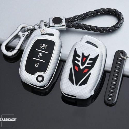 Nachleuchtende Schlüssel Cover passend für Hyundai Autoschlüssel  HEK20-D7