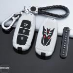 Schlüssel Cover für HYUNDAI Schlüsseltyp D9 NACHLEUCHTEND! HEK20