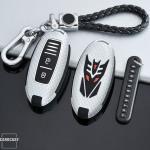 Schlüssel Cover für NISSAN Schlüsseltyp N5 NACHLEUCHTEND! HEK20