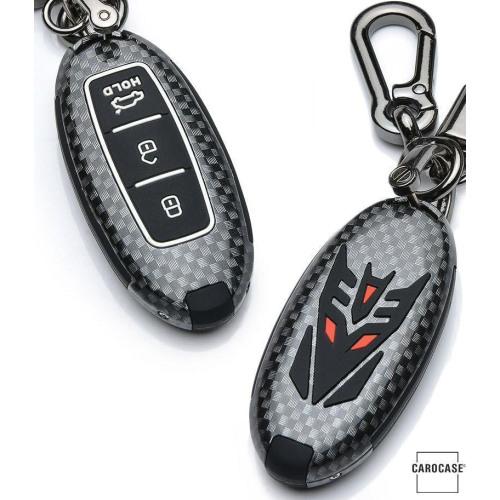 Nachleuchtende Schlüssel Cover passend für Nissan Autoschlüssel  HEK20-N6