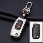Alu Hartschalen Schlüssel Cover passend für Ford Autoschlüssel mit Leuchtfunktion  HEK17-F1