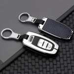 Alu Leder Schlüssel Cover für Audi AX4...