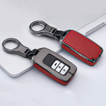Alu Leder Schlüssel Cover für HondaH11-H13 Kollektion-HEK15