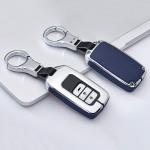 Aluminium, Leder Schlüssel Cover passend für Honda Schlüssel  HEK15-H12