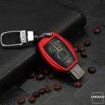 Silikon Schlüssel Cover passend für Mercedes-Benz Schlüssel M6, M7 schwarz