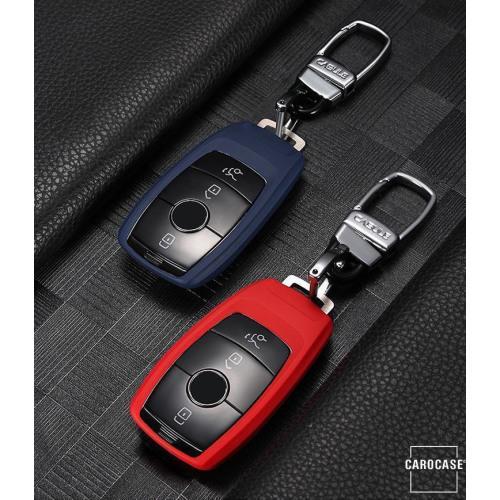 Silikon Schlüssel Cover passend für Mercedes-Benz Schlüssel M9 schwarz
