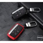 Silikon Schlüssel Cover passend für Land Rover Schlüssel LR2