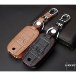 Leder Schlüssel Cover passend für Honda Schlüssel H5