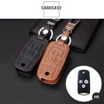 Leder Schlüssel Cover passend für Honda Schlüssel H6