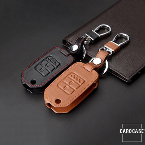 Leder Schlüssel Cover passend für Honda Schlüssel H9