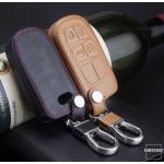 Leder Schlüssel Cover passend für Jeep, Fiat...