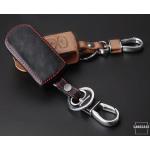 Leder Schlüssel Cover passend für Mazda Schlüssel MZ4