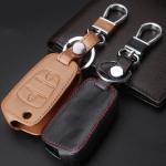 Leder Schlüssel Cover passend für Hyundai, Kia...
