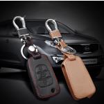 Leder Schlüssel Cover passend für Hyundai, Kia Schlüssel D5