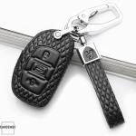BLACK-ROSE Leder Schlüssel Cover für Hyundai Schlüssel rosa LEK4-D1