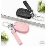 BLACK-ROSE Leder Schlüssel Cover für Hyundai...