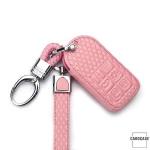 BLACK-ROSE Leder Schlüssel Cover für Volvo Schlüssel  LEK4-VL2