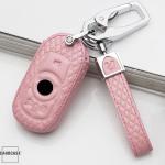 Leder Cover OPEL inkl. Karabiner + Lederband LEK4-OP15