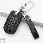 Leder Cover Honda inkl. Karabiner + Lederband  LEK4-H10