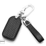 BLACK-ROSE Leder Schlüssel Cover für Honda Schlüssel rosa LEK4-H11
