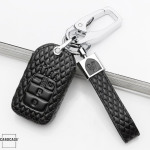 BLACK-ROSE Leder Schlüssel Cover für Honda Schlüssel  LEK4-H13