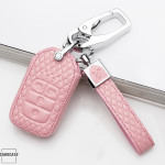 BLACK-ROSE Leder Schlüssel Cover für Honda...