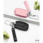 BLACK-ROSE Leder Schlüssel Cover für Kia...