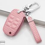 BLACK-ROSE Leder Schlüssel Cover für Kia Schlüssel  LEK4-K3