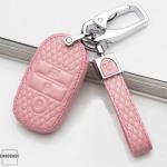 BLACK-ROSE Leder Schlüssel Cover für Kia Schlüssel  LEK4-K7