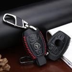 Leder Schlüsseletui für Mercedes-Benz LEK18-B4