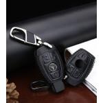 Leder Schlüssel Cover passend für Mercedes-Benz Schlüssel M7