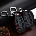 Leder Schlüssel Cover passend für Ford Schlüssel F4
