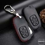Leder Schlüssel Cover passend für Audi Schlüssel AX5