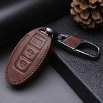 Leder Schlüssel Cover passend für Nissan Schlüssel N5