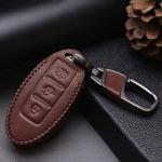 Leder Schlüssel Cover passend für Nissan Schlüssel N6