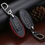 Leder Schlüssel Cover passend für Nissan Schlüssel N7
